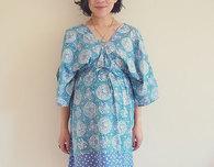 Boo kimono dress pattern