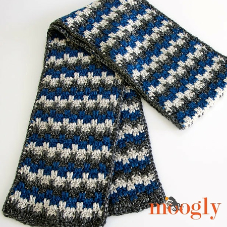 Stripes and Blocks Scarf