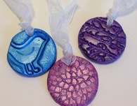 Clay Medallion Party Favors