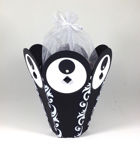 Paper board gift basket