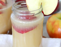 Apple pear punch with caramel