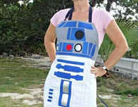 Star Wars R2D2 style droid apron