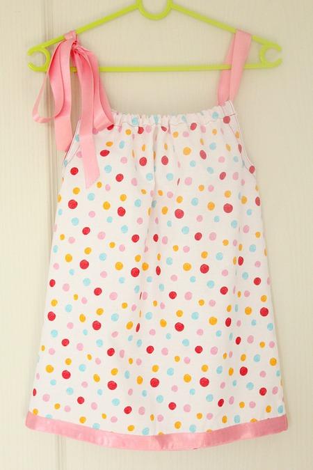 Pillowcase dress sewing tutorial for beginners