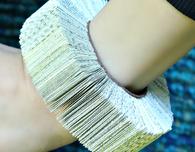Book Bracelet DIY