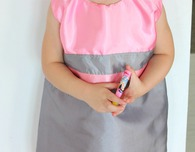 Sleeveless A line dress pattern 4T