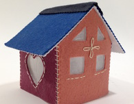 Felt Cottage Luminary