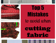 Top 5 Mistakes to Avoid When Cutting Fabric