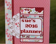 Make a Personalized Planner using a inexpensive $1 Calendar