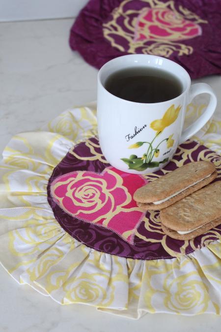 Valentine Mug Rug sewing tutorial
