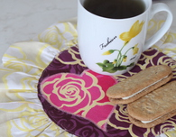 Valentine Mug Rug sewing tutorial