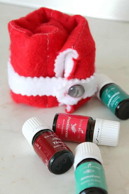 Essential oils pouch sewing tutorial
