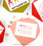 Valentine Envelopes Free Printable