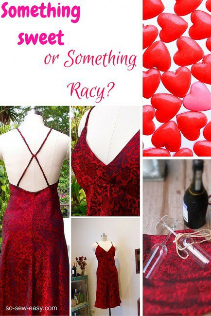 Something sweet, something racy…..a free sexy dress pattern
