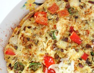 Indian spiced omelette