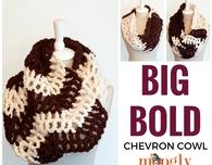 Big Bold Chevron Cowl