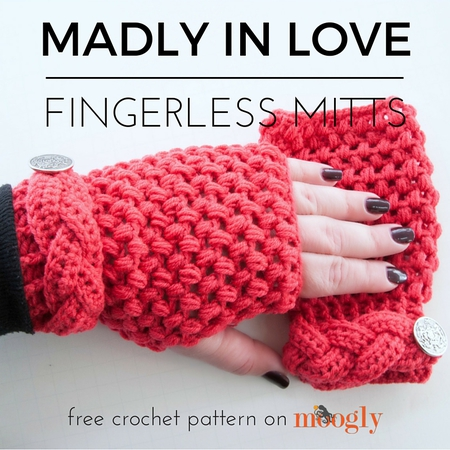 Madly In Love Mitts