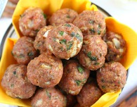 Healthy Baked Meatballs