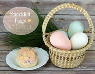 Speckled Eggs for Spring