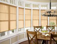 DIY Bow Window Treatments