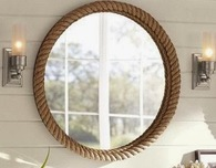 DIY Decorated Mirrow Frame With Rope