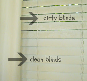 DIY Cleaning Solution For Dirty Blinds