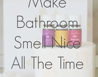 How to make your bathroom smell nice