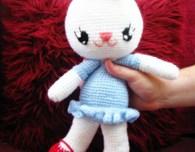 cuddly crochet bunny