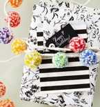 Pom Pom Garland Gift Wrapping