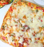 Hash Brown lasagna with vegetables and chicken