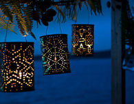 Great Party Decoration With DIY Luminaries