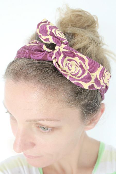 DIY wire headband sewing tutorial