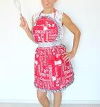 Vintage apron free sewing pattern