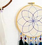 Embroidery Hoop Dreamcatcher