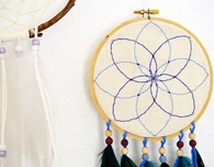 Embroidery Hoop Dreamcatcher