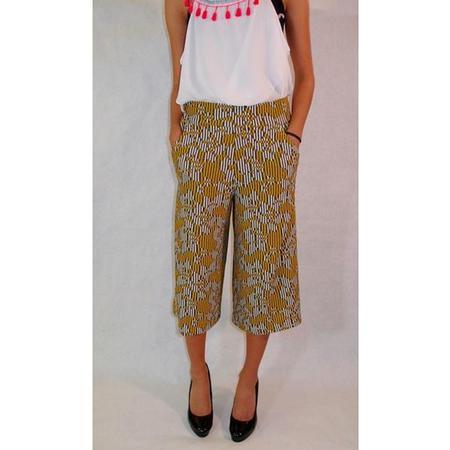 Culottes free sewing pattern