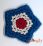 Star Spangled Trivet and Hot Pad