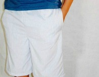 Men's pajama shorts with pockets