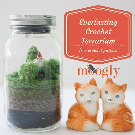Everlasting Crochet Terrarium