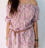 Boho chic tunic pattern