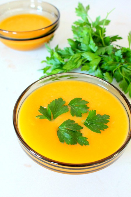 Cream of vegetable soup recipe
