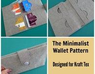 Minimalist Kraft Tex wallet