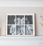 DIY Fancy Window Picture Frame