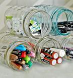 DIY Supply Jar Holder