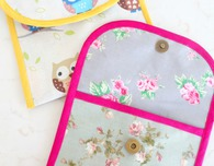 Reusable Snack bag sewing tutorial