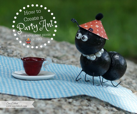 How to Create a Party Ant for your next party or BBQ