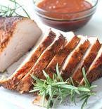 Brined roasted turkey breast