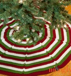 Happy Holidays Tree Skirt