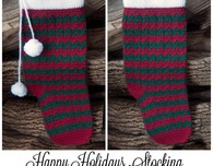 Happy Holidays Stocking