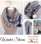 Winter Storm Scarf