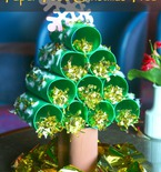 Paper tube Christmas tree tutorial